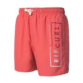 "Plavky Ripcurl VOLLEY CORE 16"" BOARDSHORT  Mineral Red"
