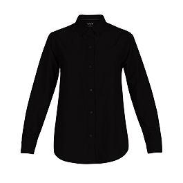 Košile Hurley WILSON L/S Black