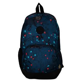 Batoh Hurley BLOCKADE II SCRIBBLE BACKPACK Blue Force