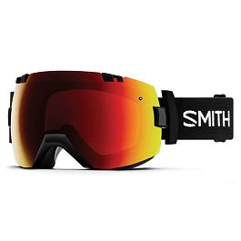 Snow brýle Smith I/OX Black | Chromapop Sun Red Mirror
