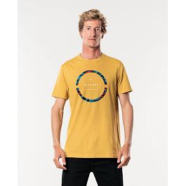 Tričko Rip Curl FILTER PARTY TEE  Mustard