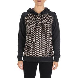Mikina Ripcurl CHIMAIRA FLEECE Black Marled