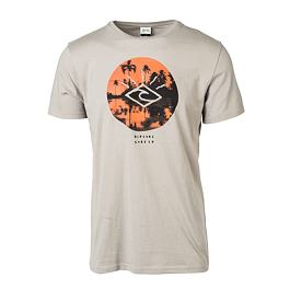 Tričko Rip Curl TROPIC SUNSET TEE  Flint Gray
