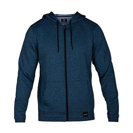 Mikina Hurley DRI-FIT DISPERSE FULL ZIP Blue Force