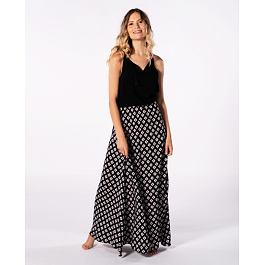 šaty Rip Curl ISLAND LONG DRESS  Black