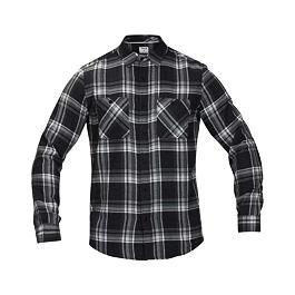 Košile Hurley CREEPER WASHED L/S Black