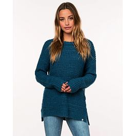 Svetr Rip Curl PEACEFUL SWEATER  Teal
