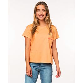 Tričko Rip Curl SURFBOARD POCKET TEE  Light Orange