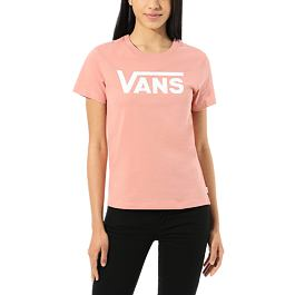 Tričko Vans FLYING V CREW TEE Rose Dawn