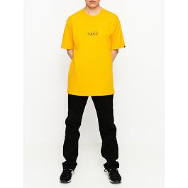 Tričko Vans CLASSIC EASY BOX Saffron/Black