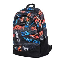 Batoh Rip Curl TRI SCHOOL BRUSH STOKES  Black