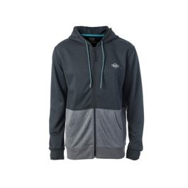 Mikina Rip Curl HOODED POP FLEECE Black