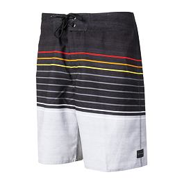 "Plavky Rip Curl LINE UP 19"" BOARDSHORT  Black/Red"