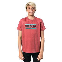 Tričko Rip Curl BIG MAMA STRIPE SS TEE  Baked Apple Mar