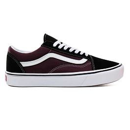 Boty Vans COMFYCUSH OLD SKOOL Black/Prune/True White