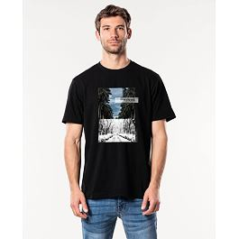 Tričko Rip Curl GD/BD TEE  Washed Black