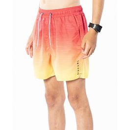 Plavky Rip Curl LAZE FADE VOLLEY-BOY  Red
