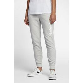 Kalhoty Hurley O&O POP FLEECE TRACK PANT Grey Heather