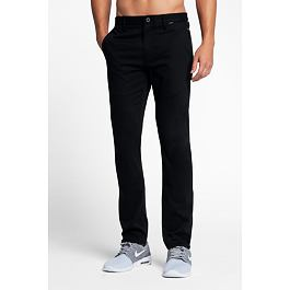 Kalhoty Hurley DRI-FIT WORKER PANT Black