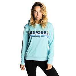 Mikina Ripcurl BIG MUMMA HOODED FLEECE  Blue Topaz