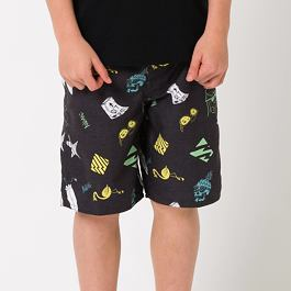 Plavky Animal LINO Black