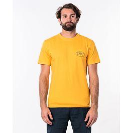 Tričko Rip Curl ALOHA STATE S/S TEE  Gold