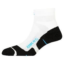 Ponožky PAC RN 5.1 RUNNING PRO SHORT White