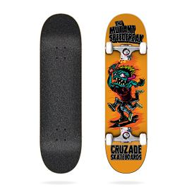 Skateboard komplet Cruzade SKATE KOMPLET CRUZADE THE MUTANT SPEEDFREAK 8,0 Orange