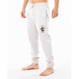 Tepláky Rip Curl SEARCH ICON TRACKPANT  Light Grey Marl