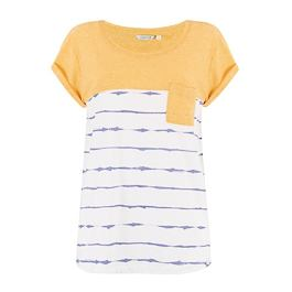 Tričko Animal SEA STRIPES Sunshine Yellow Marl