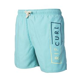 "Plavky Ripcurl VOLLEY CORE 16"" BOARDSHORT  Nile Blue"