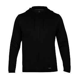 Mikina Hurley DRI-FIT DISPERSE FULL ZIP Black