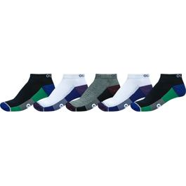 Ponožky Globe EVAN ANKLE SPORT SOCK White/Navy/Black