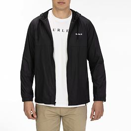 Bunda Hurley WINDBREAKER JACKET Black