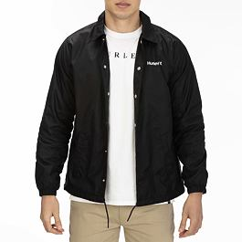 Bunda Hurley COACHES JACKET Black