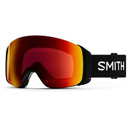 Snow brýle Smith 4D MAG Black|ChromaPop Sun Red