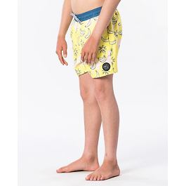 Plavky Rip Curl FUNNY VOLLEY BOY  Yellow