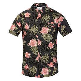 Košile Hurley LANAI STRETCH S/S Anthracite