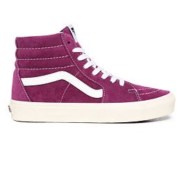 Boty Vans SK8-HI (Pig Suede) Grape Juice/Snow White