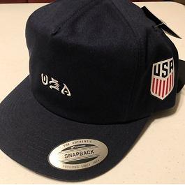 Kšiltovka Hurley USA NATIONAL TEAM HAT Obsidian