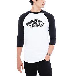 Tričko Vans OTW RAGLAN White/Black
