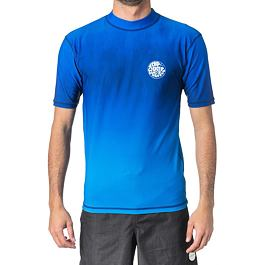 Lykra Ripcurl CORPO FADED UV TEE  Blue