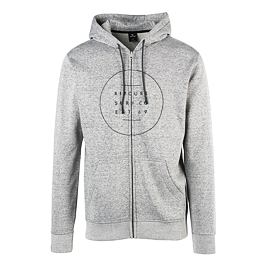 Mikina Ripcurl ALL AROUND SURF FLEECE  Cement Marle