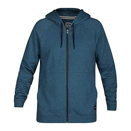 Mikina Hurley CRONE FULL ZIP Blue Force Htr