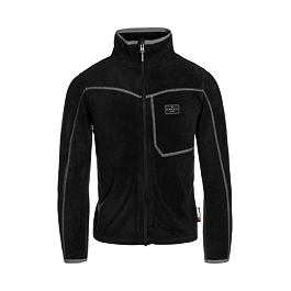 Mikina Ripcurl JR MICRO FLEECE FZ  Jet Black
