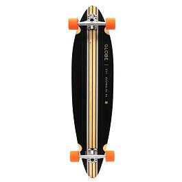 Longboard Globe PINNER COMPLETE Black/Sea Port/Orange