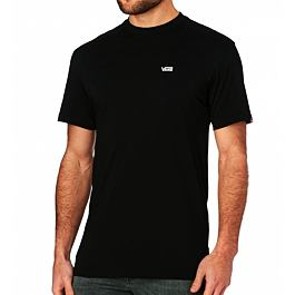 Tričko Vans LEFT CHEST LOGO TEE Black/White