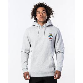 Mikina Rip Curl SEARCH ICON HOOD  Cement Marle