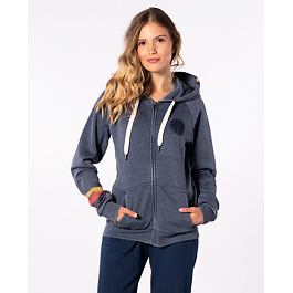 Mikina Rip Curl REVIVAL ZIP HOOD  China Blue