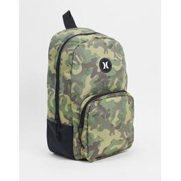 sBatoh Hurley BLOKE PRINTED BACKPACK Medium Olive